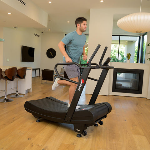Pro 6 Arcadia Air Runner Treadmill Male Model Running
