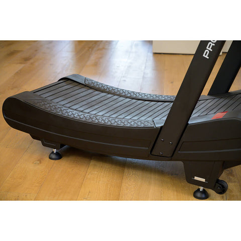 Pro 6 Arcadia Air Runner Treadmill Rear Side View Close