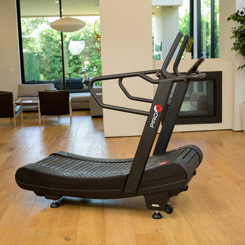 Pro 6 Arcadia Air Runner Treadmill Side View