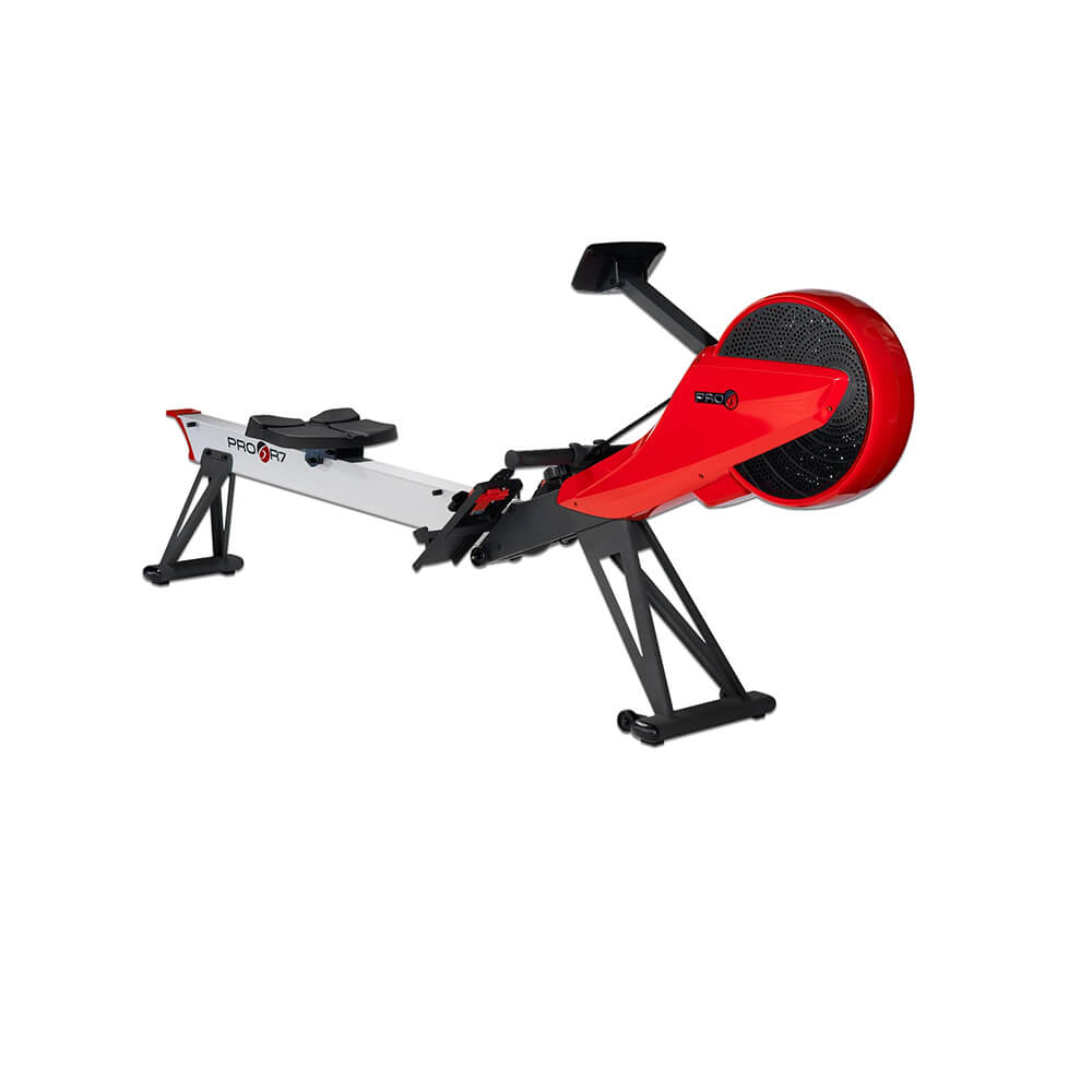 Pro 6 R7 Magnetic Air Rower Back Side View