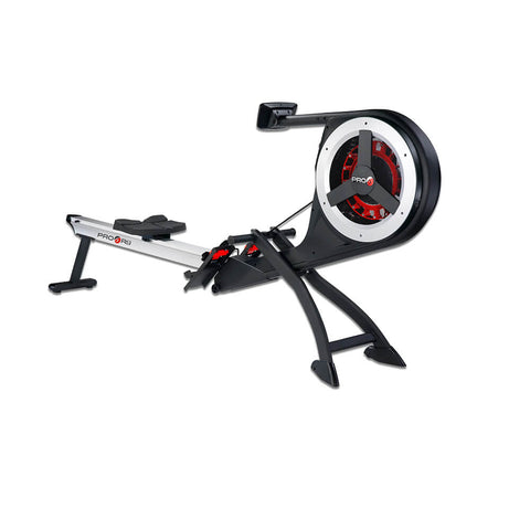 Pro 6 R9 Magnetic Air Rower Front Side View