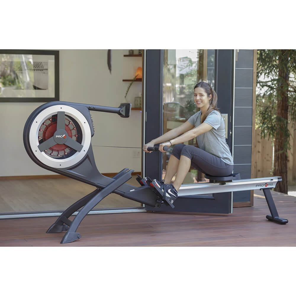 Pro 6 R9 Magnetic Air Rower With Model