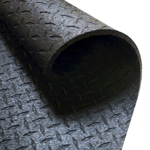 "Body-Solid Tools 4' x 6', 1/2"" Thick Rubber Equipment Mat RF546"