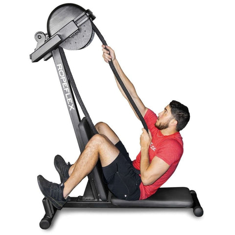 Image of Ropeflex RX2300 IBEX Dual Position Rope Trainer Exercise Figure 1