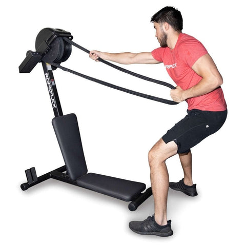 Image of Ropeflex RX2300 IBEX Dual Position Rope Trainer Exercise Figure 7