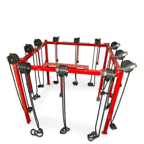 Image of Ropeflex RX8100 ROPERIG Spartan Rope Training Rig 3D View