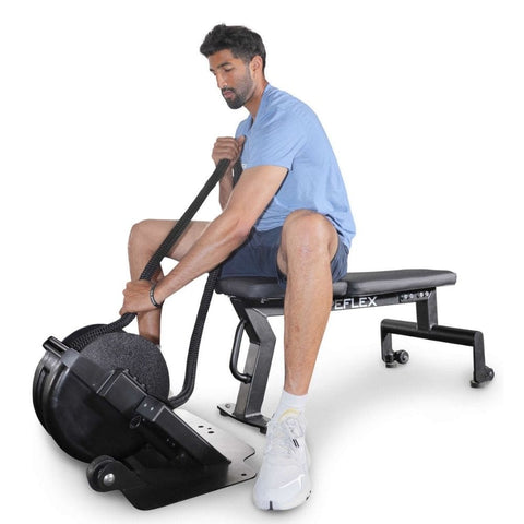 Image of Ropeflex RXB2 Flat Bench Exercise Figure 2