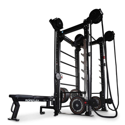 Ropeflex RXB2 Flat Bench Loaded