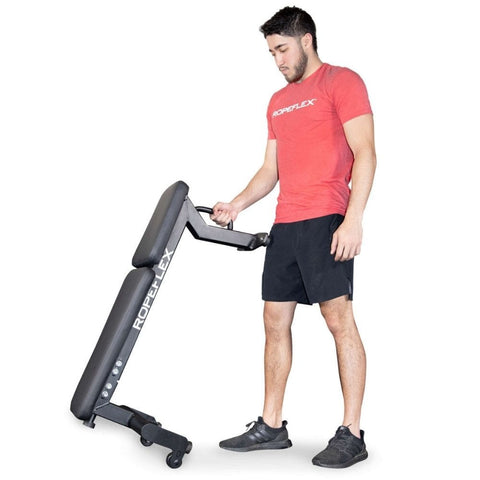 Image of Ropeflex RXB2 Flat Bench One Hand Lift