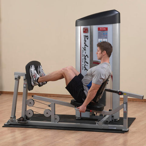 Image of Body-Solid ProClub Series II Leg Press & Calf Raise S2LPC