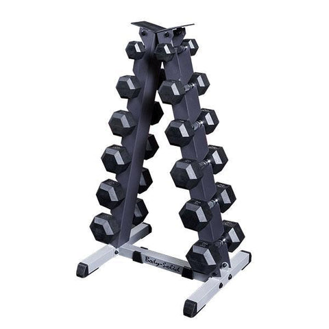 Body-Solid SDR 5-30lb Vertical Dumbbell Package