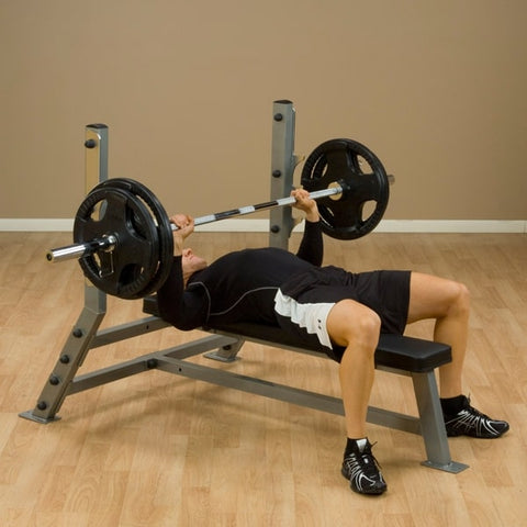 Image of Body-Solid ProClub SFB349G Flat Olympic Bench Model