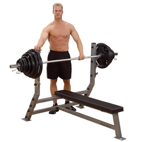 Image of Body-Solid ProClub SFB349G Flat Olympic Bench Hero