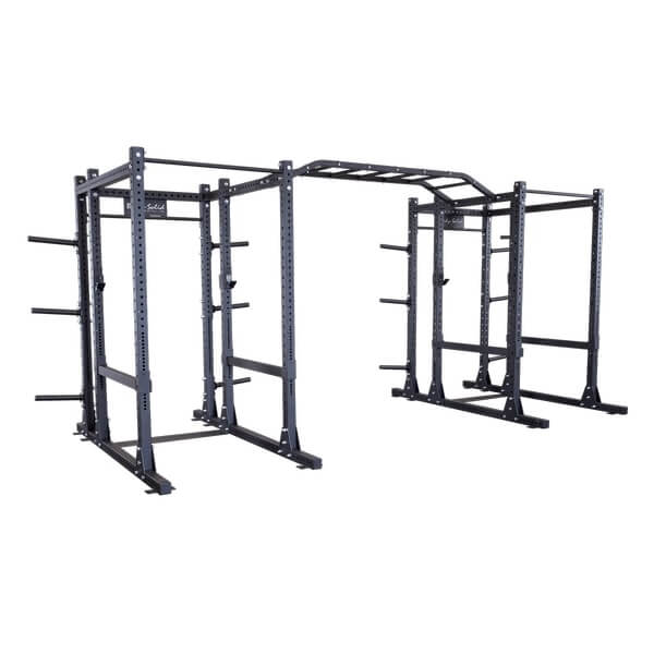 Body-Solid Extended Double Power Rack Package SPR1000DBBACK