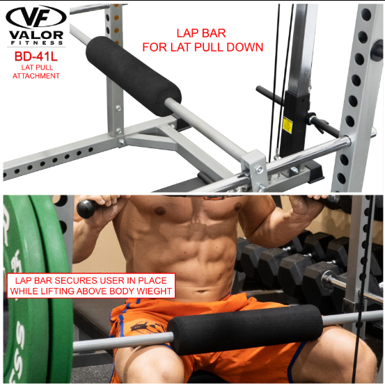 Valor Fitness Lat Pull Low Row Attachment BD-41L