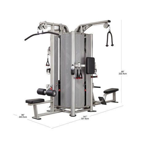 Image of Steelflex Commercial Jungle Gym JG4000S Dimensions