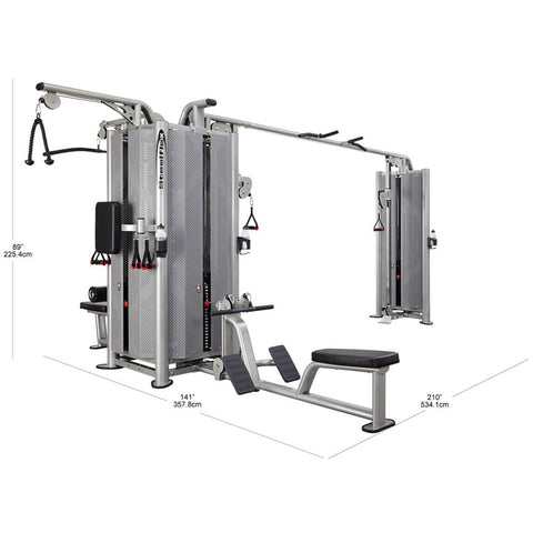 Steelflex Commercial Jungle Gym JG5000S Dimensions