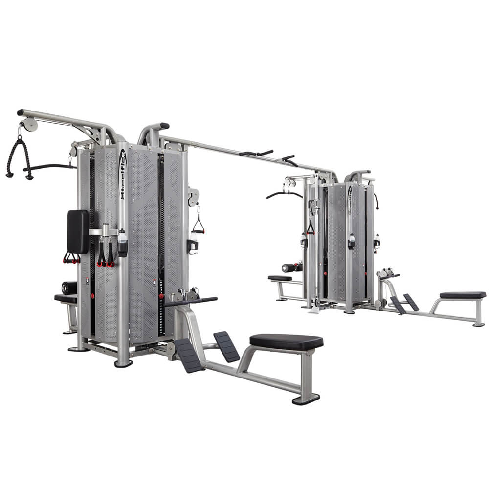 Steelflex Commercial Jungle Gym JG8000S 3D View
