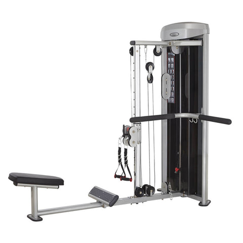 Steelflex M3DBR Mega Power 3D Back Row Machine 3D View