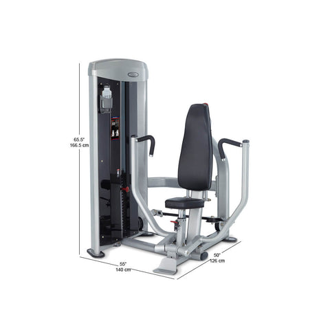Steelflex MBP-100 Mega Power Chest Press Dimension