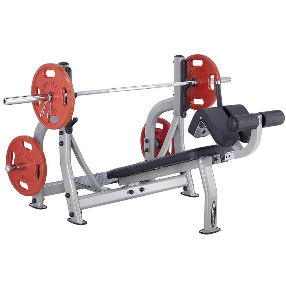 Steelflex NODB Commercial Olympic Decline Bench 3D View