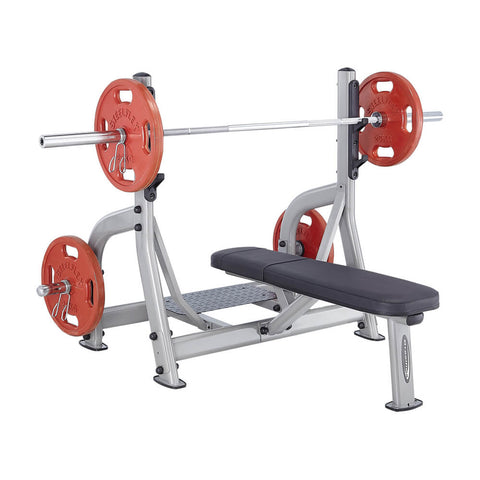 Steelflex NOFB Commercial Olympic Flat Bench 3D View