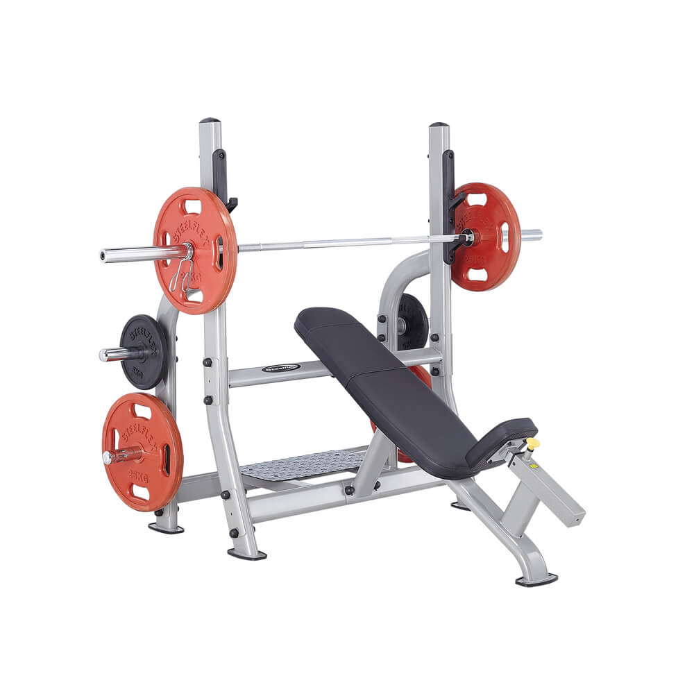 Steelflex NOIB Commercial Olympic Incline Bench 3D View