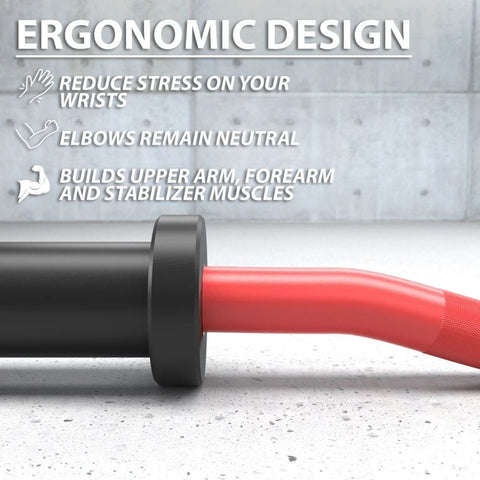 Synergee EZ Curl Bars Ergonomic Design