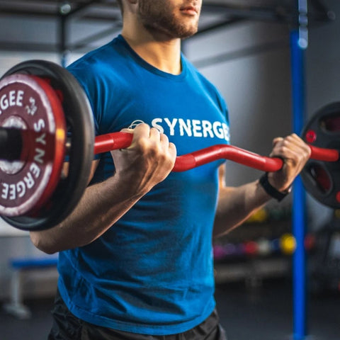 Synergee EZ Curl Bars Lifestyle