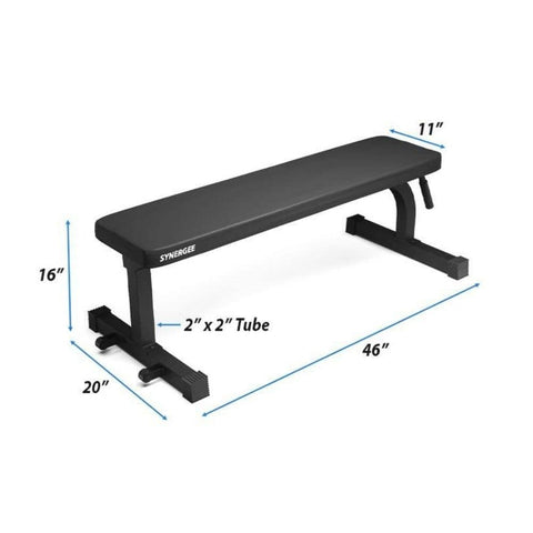 Image of Synergee Flat Bench Dimensions