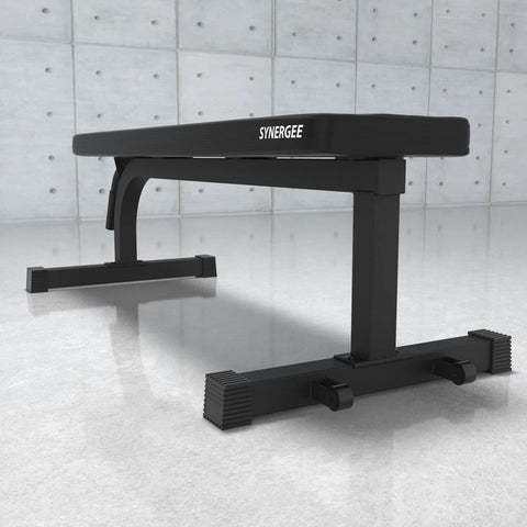 Synergee Flat Bench Front Side View