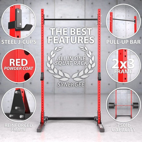 Synergee V2 Squat Rack All In One