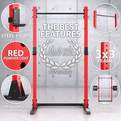 Synergee V3 Squat Rack Key Features