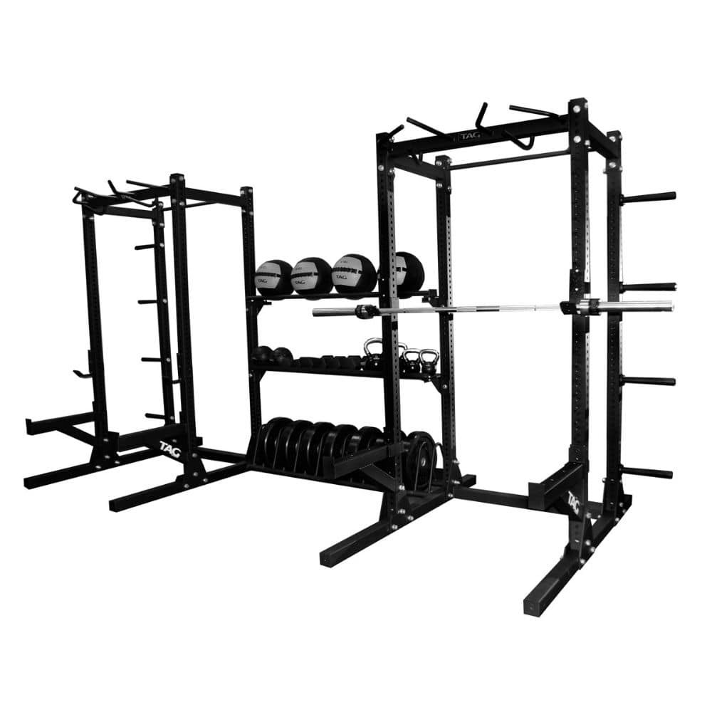 TAG Fitness Power 1_2 Rack Combo 3D View