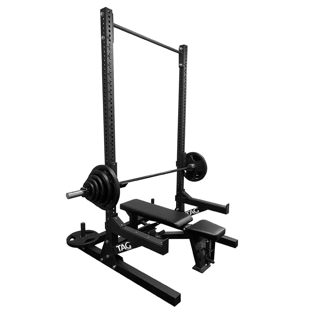TAG Fitness Slim Rack 3D View