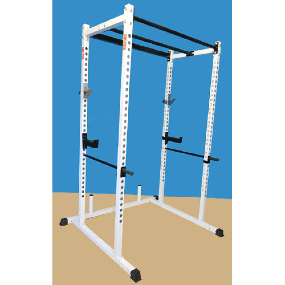 TDS-92680 Dual Pull Up Bar Power Rack 3D View