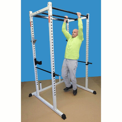 Image of TDS-92680 Dual Pull Up Bar Power Rack Pull Up Side View