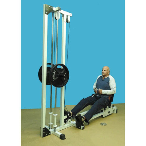 Image of TDS C-92075-W Horizontal Leg Press 3D View Exercise