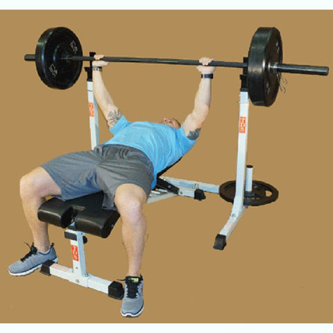 TDS H-93132 Squat Rack With Bench