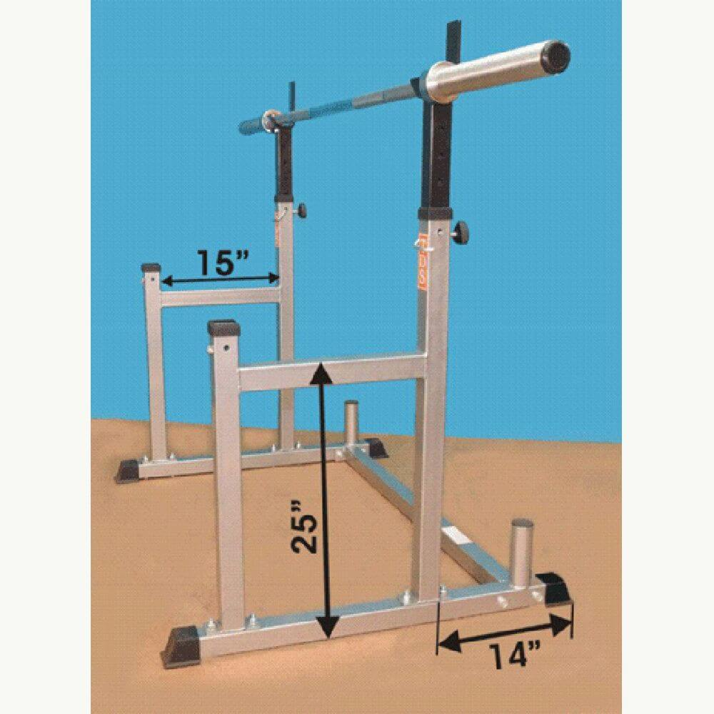 TDS H-93135 Squat & Bench Press Rack Dimension