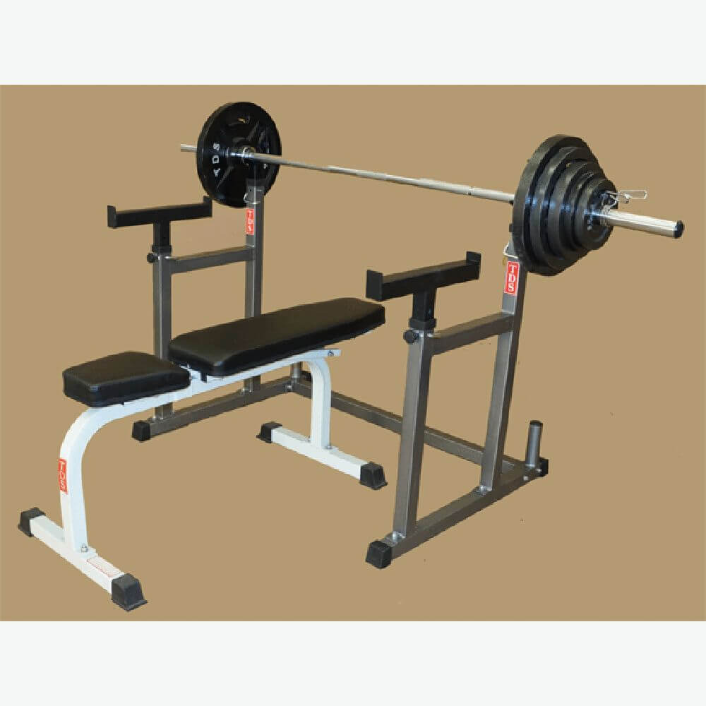 TDS H-93135 Squat & Bench Press Rack Flat
