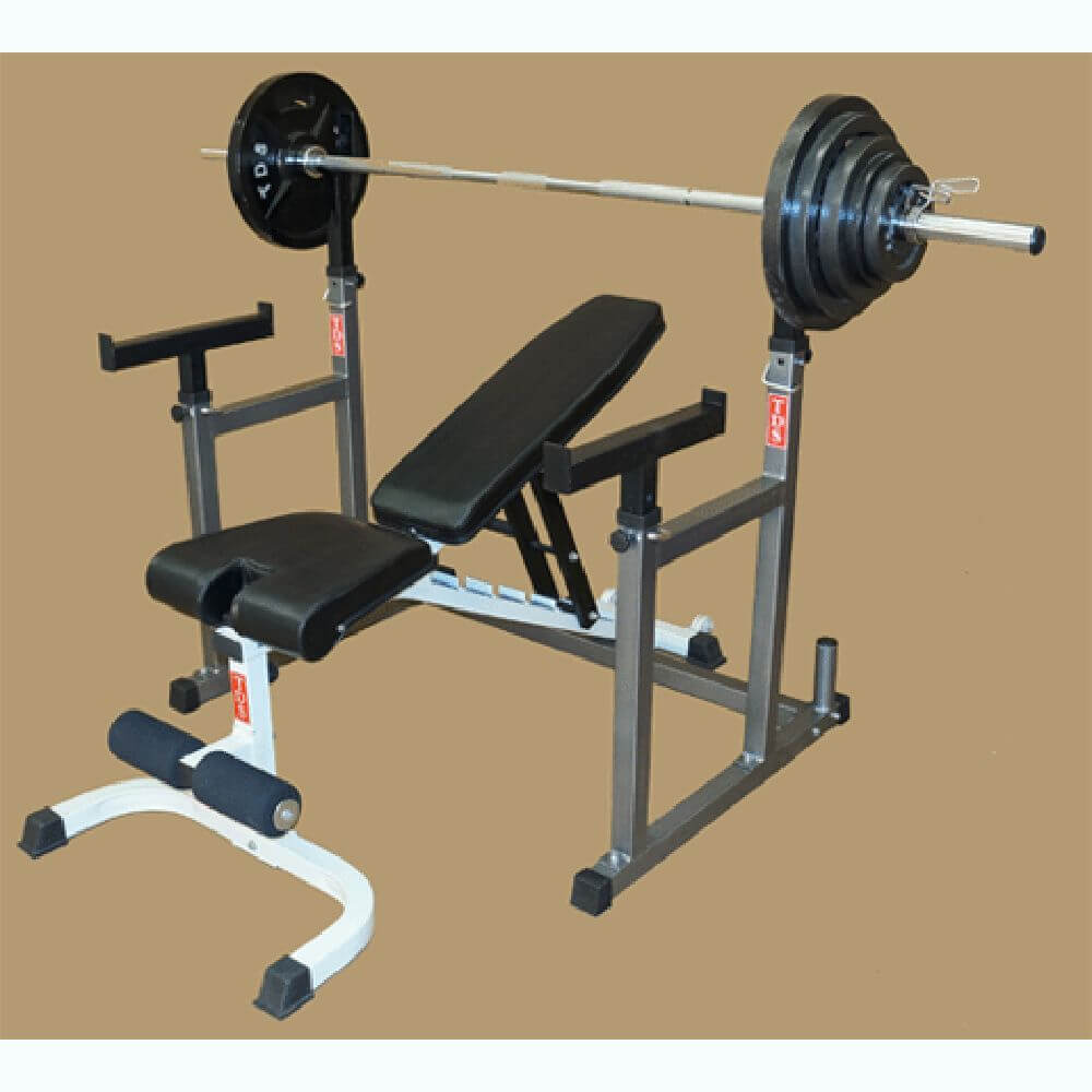 TDS H-93135 Squat & Bench Press Rack Incline