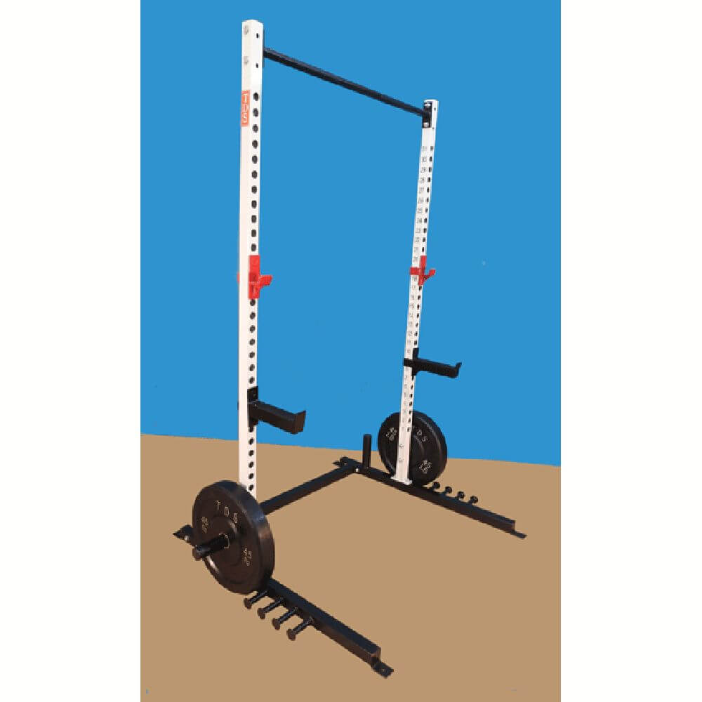 TDS H-96031 Super Squat Stand (Open Rack) Gym 3D View