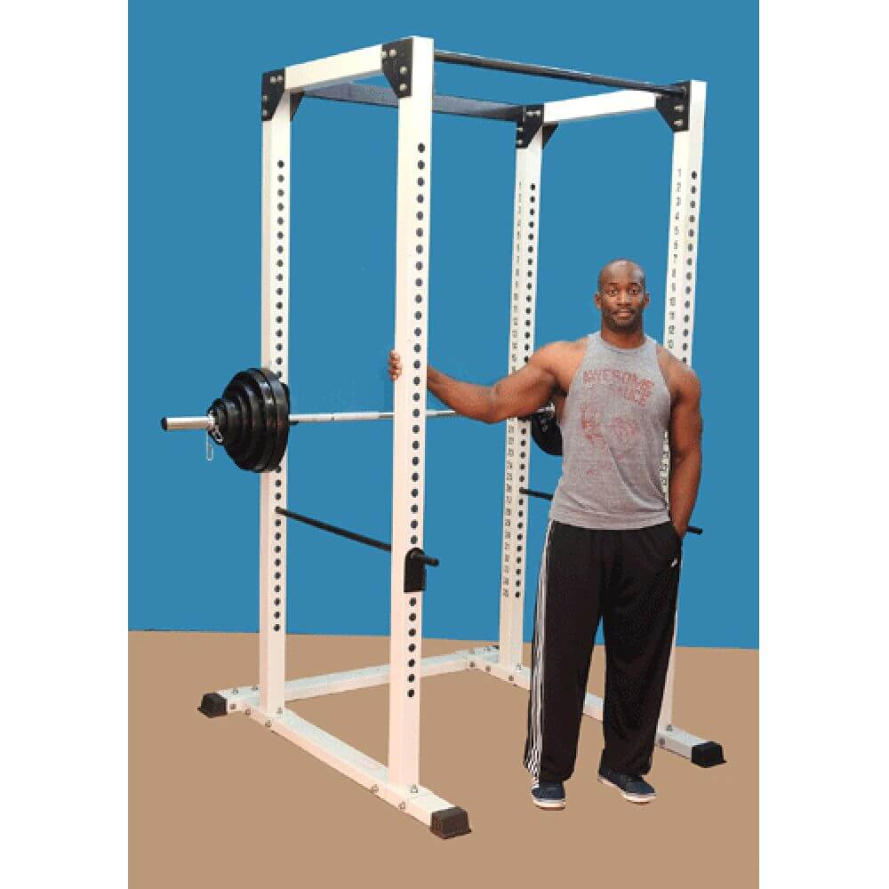 TDS Pro Power Squat Rack 3D View