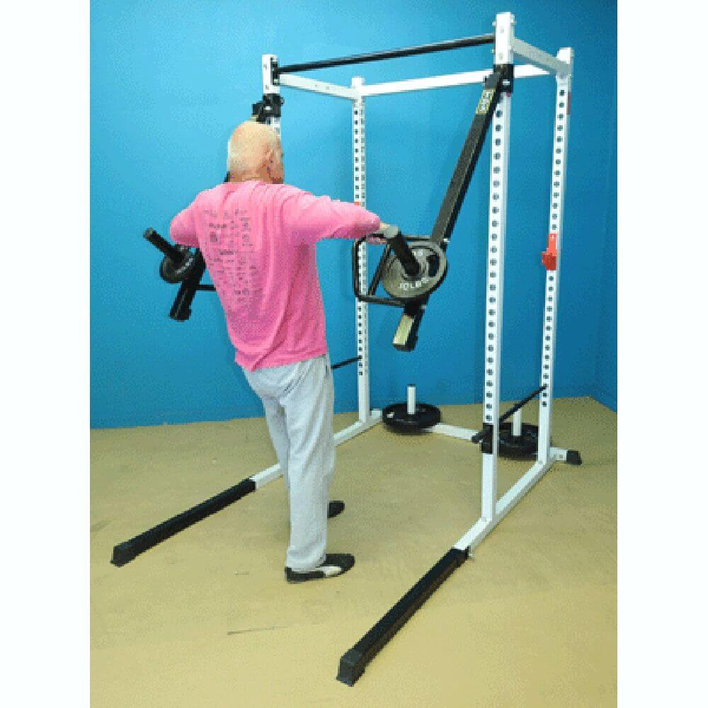 TDS Push Pull Thruster Attachment Standing Row