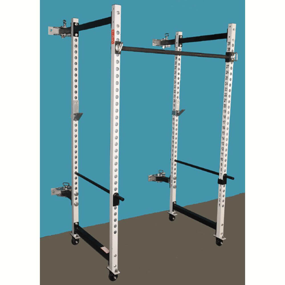 Tds Tds-67600-2 Wall Mount Folding Power Rack 3D View