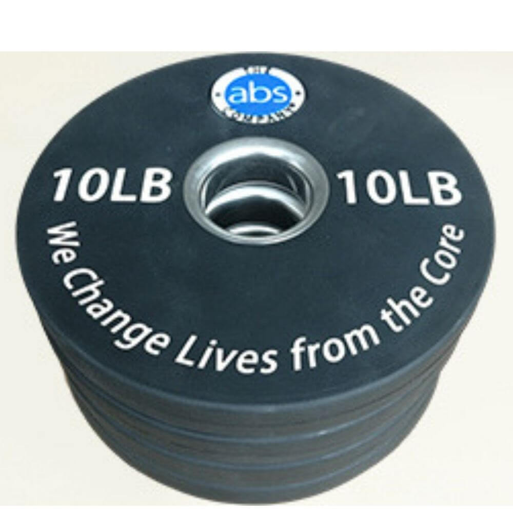 The Abs Company 10 lb Weight - Set Of Four 3D VIew