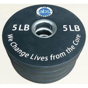 The Abs Company 5 lb Weight - Set Of Four 3D View