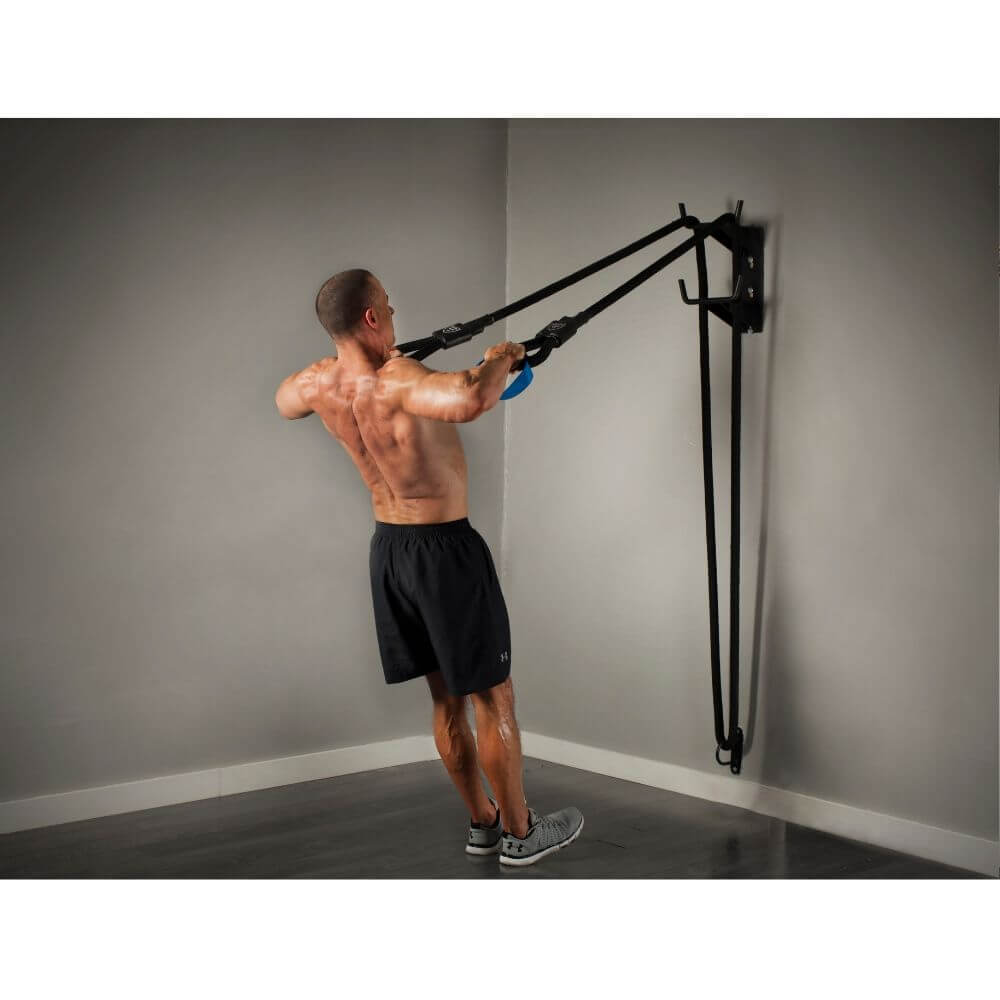 The Abs Company BattleRope ST System Hi Rows