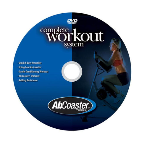 The Abs Company PS500 Abcoaster DVD